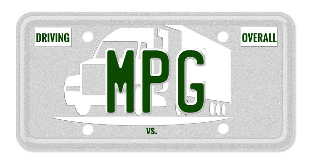 Driving MPG vs. Overall MPG